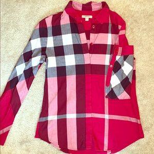 Women's SMALL - Burberry Brit button down shirt